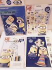 Childrens Minions Activity Pack/Sticker Set/Colouring Pad Creative Educational