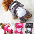 Cute Anime Totoro Cosplay Pet Puppy Dog Warm Clothes Hoodie Jumpsuit Costume
