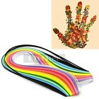 160 Stripes Quilling Paper 3/5mm Width Mixed Color For DIY Craft Free Shipping