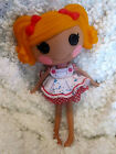 "LaLaLooPSy 12"" MGA FuLL SiZe DoLL SPOT SPLATTER SPLASH ORaNGe HaiR w' OuTFiT"