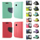 LG 306G Tracfone Wallet Case Folio ID Bag Pouch + Screen Protector