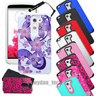 For LG G3 Stylus D690 Fusion Hybrid Hard Case Shockproof Cover