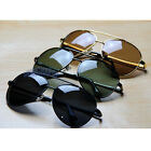 Unisex Polarized Aviator Pilot Style Sunglasses Driving Sunnies Shades 80s Black