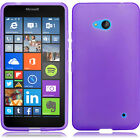 For Nokia Lumia 640 Frosted TPU CANDY Flexi Gel Skin Case Phone Cover Accessory