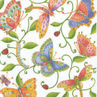 Parvanehs garden Butterflies Caspari new luxury paper table napkins 20 in pack