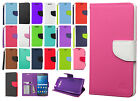 Samsung Galaxy Grand Prime Leather 2 Tone Wallet Pouch Flip Case + Screen Guard