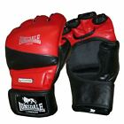 Lonsdale Amateur Cage Fight MMA Gloves Open Palm Thumbless