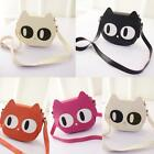 Women Shoulderbag Cat Shpe Satchel PU Leather Messenger Crossbody Bag Handbag