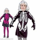 Girls Skeleton Costume Girls Halloween Costumes Girls Skeleton Outfit  4-12yrs