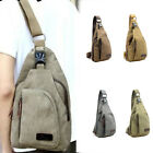 Men's Canvas Chest Bag Sports Accessory Multi-color Two Size Outdoor Equipment