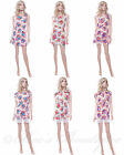 New Ladies Cotton Floral Summer Dress Size 10 12 14 16 Holiday Womens Lace