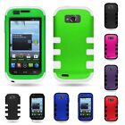 zte savvy cover - For ZTE Savvy Z750C TPU Skin + Hard Dual Layer Hybrid Case Cover