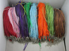 fashion beautiful 8color Naked yarn multilayer charms necklace