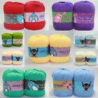 Wholesale! Smooth Silk Bamboo Cotton Baby knitting yarn Soft;DK;32 colors