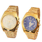 Luxury Hour Bracelet Dial Stainless Steel Quartz Analog Wrist Watch