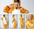 Adult Kid Pajamas Kigurumi Cosplay Animal Onesie Sleepwear Slipper Giraffe