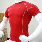 Skin Tight Gear Mens Compression 036 Sports Top Red