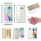 Slim Fit Transparent Jelly Silicone TPU Clear Case Cover For iPhone Galaxy LG
