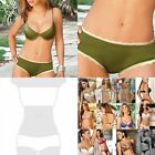 Chamela 14604,Women's Sexy Boxer Sensual LaceEdge Color Green Talla L Reg.$18.65
