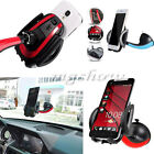 Auto Lock 360°Rotating Car Windshield Holder Stand Bracket For iPhone Mobile GPS