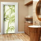 PHOTO WALL PAPER Door Wallpaper BAMBOO Tattoos Stickers Living Room Wandtatoo