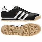adidas Originals Rom Mens Black Leather Shoes Trainers
