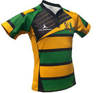 Olorun Saint Sinners Hooped Sublimated Rugby Shirt S-7XL
