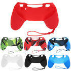 New Camouflage Silicone Rubber Gel Case Skin Grip Cover For PS4 Controller UK