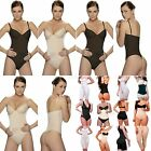 Vedette Aimee 327, Medium Control Bodysuit with Bra Thong,  Size 2XS Color Nude