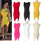 Sexy Women Summer Bandage Bodycon Prom Evening Party Cocktail Short Mini Dress