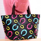Portable Printed Waterproof Handcarry Bag Lunch Box Storage Bag Household Supply