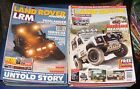 LAND ROVER MONTHLY MAGAZINES VARIOUS ISSUES
