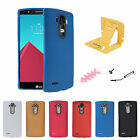 Ultra Slim Soft TPU Rubber Silicone Matte Dot Protective Case Cover for LG G4