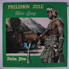 PHILEMON ZULU: How Long - Zulu Jive LP ('87, sm co, sl corner bend) rare Africa