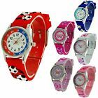 Reflex 3D Fun Time Teacher Watch Childrens Kids Girl Boy Silicone Buckle Strap