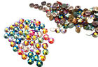 Swarovski 80 Piece Hot Fix Crystals Combo Pack, AB (10x20SS,26x16SS,44x12SS)