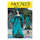McCall's 7218 Paper Sewing Pattern to MAKE Cosplay Steampunk Peacock Costume