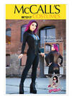 McCall's 7217 Paper Sewing Pattern to MAKE Stretch Bodysuit Cosplay Steampunk