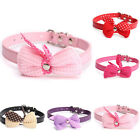Dog Puppy Cat Bow Tie Necktie Cute Bowknot Pet Collar Polka Dot Choker Necklace
