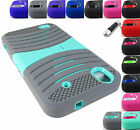 FOR ZTE PHONE MODELS EXO STRETCH HEAVY DUTY HYBRID CASE RUGGED COVER+STYLUS