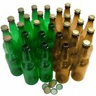 Empty Plastic PET Crown Cap Home Brew Beer Lager Cider Bottles 500ml - CHOICE