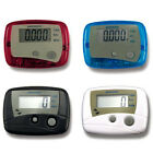 FASHION EXERCISE FITNESS LCD PEDOMETER STEP WALKING DISTANCE CALORIE COUNTER