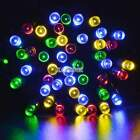 Solar String Light 12 M 100 LED Multicolor Waterproof Party Wedding Decor Lights