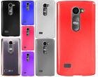 For Boost Mobile LG Tribute 2 Frosted TPU CANDY Gel Flexi Skin Phone Cover