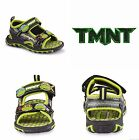 MUTANT NINJA TURTLES Light-Up Sandals Shoes Toddlers Sz. 10 & Boys 11 or 12 $35