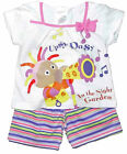 Girls Upsy Daisy Shorts and T-shirt Set Summer Outfit In The Night Garden