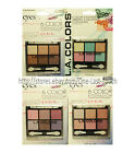 *L.A. COLORS* Silky Smooth EYESHADOW PALETTE Crease Proof NEW! *YOU CHOOSE*