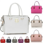 Ladies Shoulder Medium Large Tote Bags Women's Designer Faux Leather Handbags A4
