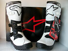 NEW WHITE ALPINESTARS NO STOP TRIALS BOOTS (ALL SIZES) BETA HEBO MONTESA GAERNE