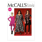 McCall's 7028 Easy Sewing Pattern to MAKE Stretch Tunic, Dress & Leggings
